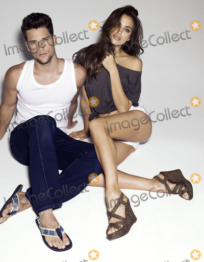 Arthur Sales Photo - March 27 2012 MadridModels Irina Shayk (L) and Arthur Sales promote Xti shoes  in Madrid Spain