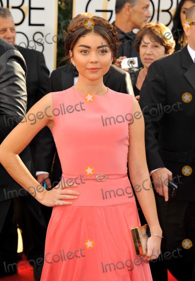 Sarah Hyland Photo - January 12 2014 LASarah Hyland arriving at the 71st Annual Golden Globe Awards held at The Beverly Hilton Hotel on January 12 2014 in Beverly Hills California