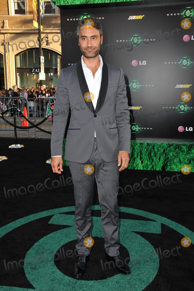 Taika Waititi Photo - Taika Waititi at the world premiere of his new movie Green Lantern at Graumans Chinese Theatre HollywoodJune 15 2011  Los Angeles CAPicture Paul Smith  Featureflash