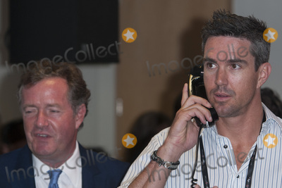 Kevin Pietersen Photo - Kevin Pietersen  Piers Morgan at the annual BGC Global Charity Day at BGC Partners LondonSeptember 11 2015  London UKPicture Dave Norton  Featureflash