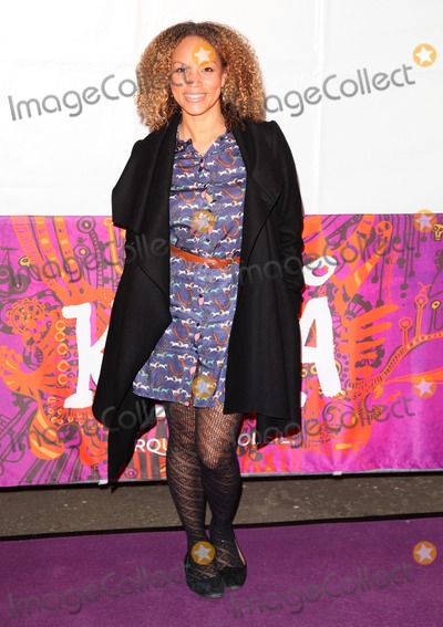 Albert Hall Photo - Angela Griffin arriving for the press night of Cirque Du Soleils Kooza at The Royal Albert Hall London 08012013  Picture by Alexandra Glen  Featureflash