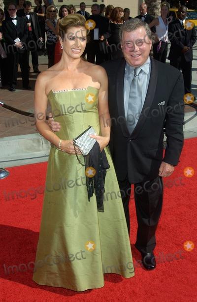 William Shatner Photo - Actor WILLIAM SHATNER  wife ELIZABETH at the 2004 Primetime Creative Arts Emmy Awards at the Shrine Auditorium Los AngelesSeptember 12 2004