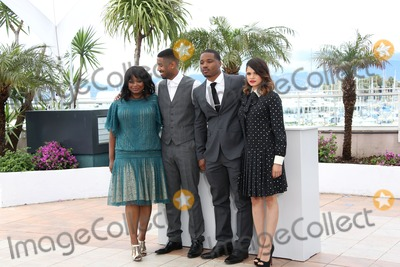 Octavia Spencer Photo - Octavia Spencer Michael B Jordan Ryan Coogler Melonie Diaz66th Cannes Film Festival - Fruitvale Station photocallCannes France 16052013 Picture by Henry Harris  Featureflash