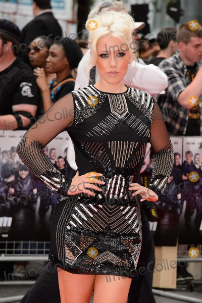 Amelia Lilly Photo - Amelia Lilly arrives for the World premiere of The Expendables 3 at the Odeon Leicester Square London 04082014 Picture by Steve Vas  Featureflash