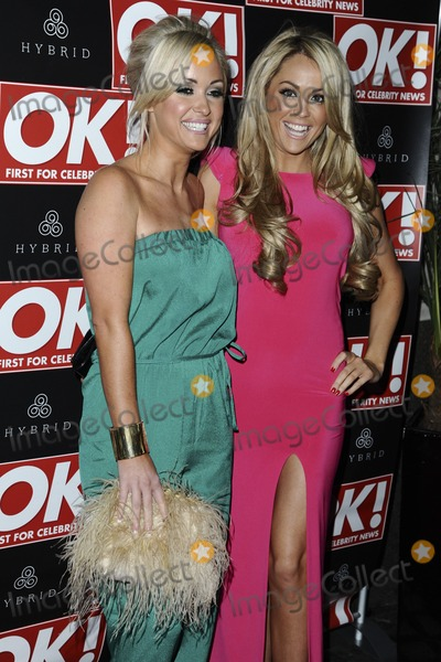 Debbie OToole Photo - Gillian and Debbie OToole (Desperate Scousewives) arrives for the Hybrid London Fashion Week Party at Jewel London 22022012 Picture by Steve Vas  Featureflash