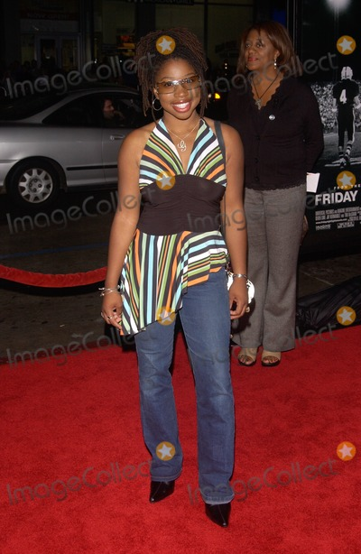 Giovonnie Samuels Photo - Actress GIOVONNIE SAMUELS at the world premiere in Hollywood of Friday Night LightsOctober 6 2004