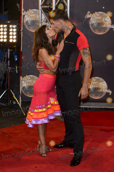 Aljaz Skorjanec Photo - Janette Manrara  Aljaz Skorjanec at the launch of Strictly Come Dancing 2015 at Elstree Studios in Borehamwood HertsSeptember 1 2015  Borehamwood UKPicture Dave Norton  Featureflash