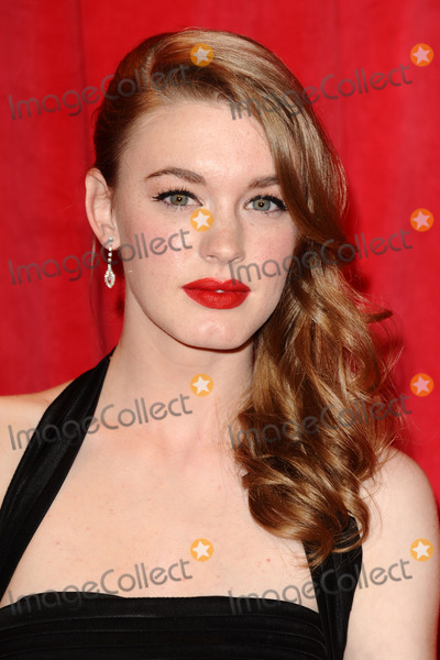 Amy Kelly Photo - Amy Kelly  arriving for the 2014 British Soap Awards at the Hackney Empire London 24052014 Picture by Steve Vas  Featureflash