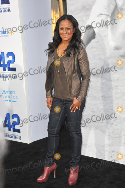 Muhammad Ali Photo - Laila Ali daughter of Muhammad Ali at the Los Angeles premiere of 42 The True Story of An American Legend at the Chinese Theatre HollywoodApril 9 2013  Los Angeles CAPicture Paul Smith  Featureflash