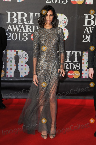 Aluna George Photo - Aluna George arrives for the Brit Awards 2013 at the O2 Arena Greenwich London 20022013 Picture by Steve Vas  Featureflash
