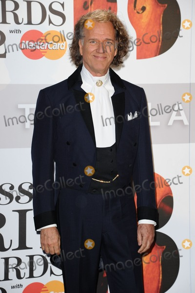 Andre Rieu Photo - Andre Rieu arriving for the Classic Brit Awards 2012 at the Royal Albert Hall London 02102012 Picture by Steve Vas  Featureflash