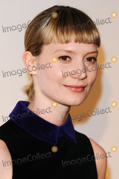 Mia Wasikowska Photo - Mia Wasikowska arrives for the Stoker premiere at the Curzon Soho London 17022013 Picture by Steve Vas  Featureflash