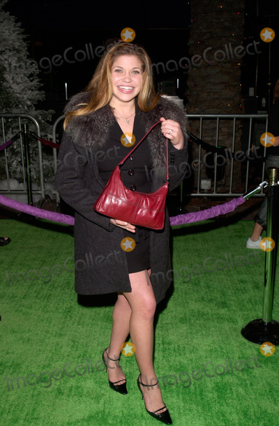 The Grinch Photo - Actress DANIELLE FISHEL at the world premiere at Universal City of Dr Seuss How The Grinch Stole Christmas08NOV2000   Paul Smith  Featureflash