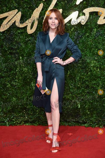 Angela Scanlan Photo - Angela Scanlan at the British Fashion Awards 2015 at the Coliseum Theatre LondonNovember 23 2015  London UKPicture Steve Vas  Featureflash