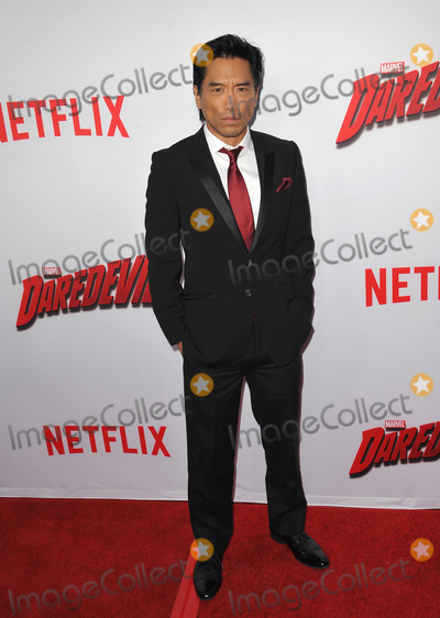 Peter Shinkoda Photo - Peter Shinkoda at the premiere of Netflix series Marvels Daredevil at the Regal Cinemas LA LiveApril 2 2015  Los Angeles CAPicture Paul Smith  Featureflash