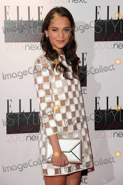 Alicia Vikanda Photo - Alicia Vikanda arriving at the 2013 Elle Style Awards at The Savoy London 11022013 Picture by Steve Vas  Featureflash