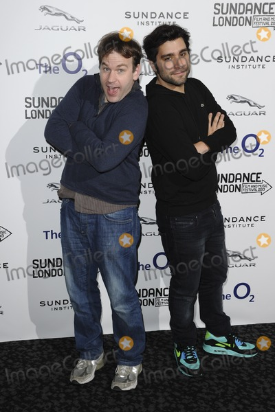 Jordan Vogt-Roberts Photo - Mike Birbiglia and Jordan Vogt-Roberts arriving for the Senses of Humor panel event as part of the Sundance London Festival 2013 at the O2 Greenwich London27042013 Picture by Steve Vas  Featureflash