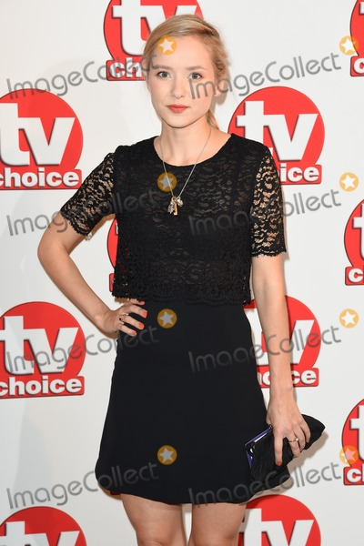 Alexandra Dowling Photo - Alexandra Dowling arriving for the TV Choice Awards 2014 at the Hilton Park Lane London 08092014 Picture by Steve Vas  Featureflash