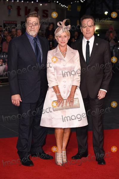 John Goodman Photo - John Goodman Dame Helen Mirren  Bryan Cranston at the premiere of Trumbo as part of the London Film Festival 2015 at the Odeon Leicester Square LondonOctober 8 2015  London UKPicture Steve Vas  Featureflash