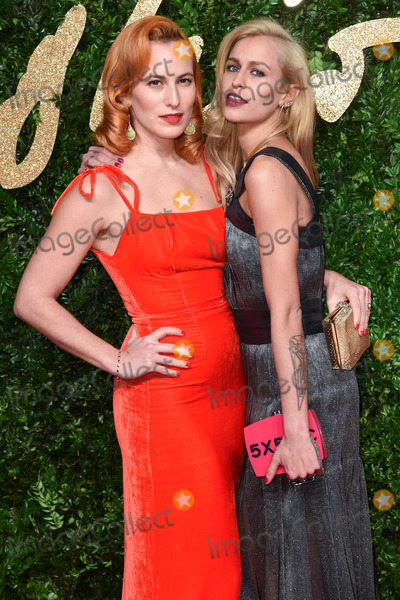 Alice Dellal Photo - Charlotte Dellal  Alice Dellal at the British Fashion Awards 2015 at the Coliseum Theatre LondonNovember 23 2015  London UKPicture Steve Vas  Featureflash