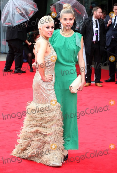 Sally Farmiloe Photo - Sally Farmiloe and daughter Jade arriving for the TV BAFTA Awards 2013 Royal Festival Hall London 12052013 Picture by Alexandra Glen  Featureflash