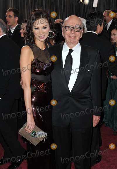 Rupert Murdoch Photo - Rupert Murdoch  Wendi Deng at the 85th Academy Awards at the Dolby Theatre HollywoodFebruary 24 2013  Los Angeles CAPicture Paul Smith  Featureflash