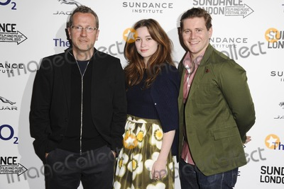 Alice Englert Photo - Jeremy Lovering and actors Alice Englert and Allen Leecharriving for the In Fear screening as part of the Sundance London Festival 2013 at the O2 Greenwich London 27042013 Picture by Steve Vas  Featureflash