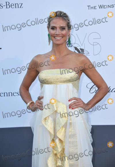 Heidi Klum Photo - Heidi Klum at amfARs 20th Cinema Against AIDS Gala at the Hotel du Cap dAntibes FranceMay 23 2013  Antibes FrancePicture Paul Smith  Featureflash