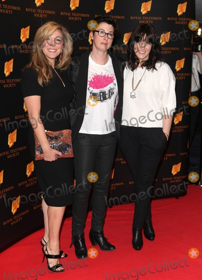 Anna Richardson Photo - Tracey-Ann Oberman Sue Perkins and Anna Richardson arriving for the RTS Awards 2014 Grosvenor House Hotel London 18032014 Picture by Alexandra Glen  Featureflash
