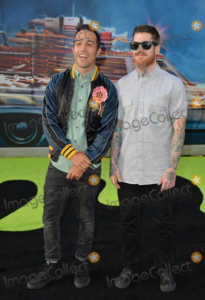 Andy Hurley Photo - LOS ANGELES CA July 9 2016 Rock band Fall Out Boy - Pete Wentz  Andy Hurley at the Los Angeles premiere of Ghostbusters at the TCL Chinese Theatre HollywoodPicture Paul Smith  Featureflash