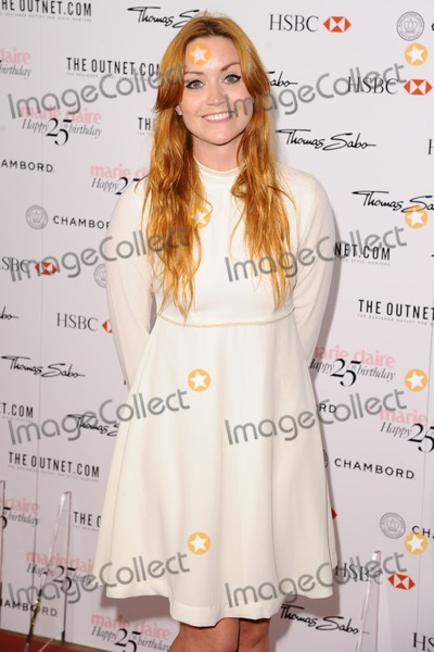 Arianna Grant Photo - Arianna Grant arriving for the Marie Claires 25th Anniversary celebration at the Cafe Royal Hotel London 17092013 Picture by Alexandra Glen  Featureflash