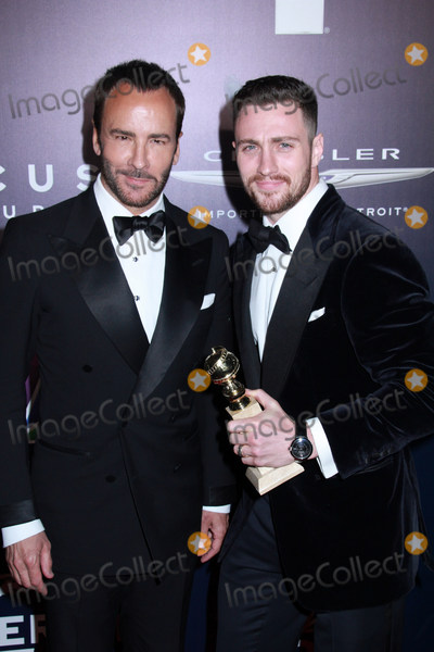 Aaron Taylor-Johnson Photo - Tom Ford Aaron Taylor-Johnson 01082017 The 74th Annual Golden Globe Awards NBCUniversal After Party held at The Beverly Hilton in Beverly Hills CA Photo by Izumi Hasegawa  HollywoodNewsWireco