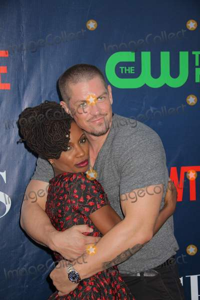 Steve Howey Photo - Shanola Hampton Steve Howey 08102015 CBS the CW and Showtime 2015 TCA Party at Pacific Design Center in West Hollywood CA Photo by Izumi Hasegawa  HollywoodNewsWirenet