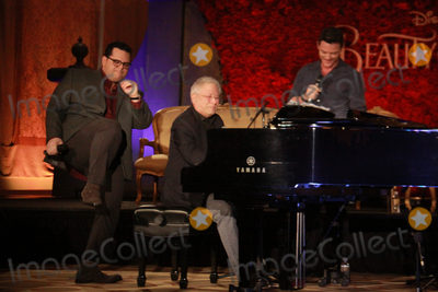 Alan Menken Photo - Josh Gad Luke Evans Alan Menken 03052017 Beauty and the Beast Press Conference held at the Montage Beverly Hills in Beverly Hills CA Photo by Julian Blythe  HollywoodNewsWireco