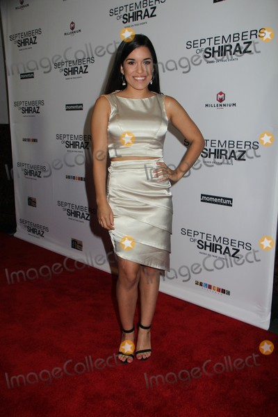 Alicia Sixtos Photo - Alicia Sixtos 06212016 The Premiere of Septembers of Shirazh held at The Museum of Tolerance in Los Angeles CA Photo by Izumi Hasegawa  HollywoodNewsWireco