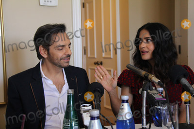 Salma Hayek Photo - Eugenio Derbez Salma Hayek 04012017 How to Be a Latin Lover Photocall held at Four Seasons Los Angeles at Beverly Hills in Los Angeles CA Photo by Izumi Hasegawa  HollywoodNewsWireco