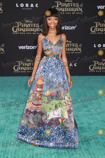 Skai Jackson Photo - Skai Jackson 05182017 The US Premiere of Pirates of the Caribbean Dead Men Tell No Tales held at the Dolby Theatre in Los Angeles CA Photo by Izumi Hasegawa  HollywoodNewsWireco
