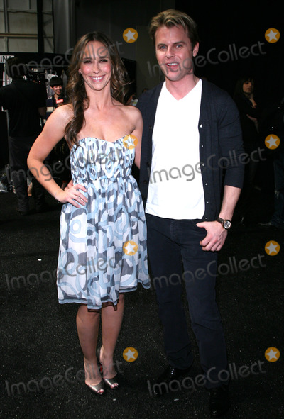 Adam Lippes Photo - Actress Jennifer Love Hewitt and designer Adam Lippes pictured backstage before the Adam show at the Tent in Bryant Park on February 14th 2009 in New York City Mercedes-Benz Fashion Week Fall 2009 Collection