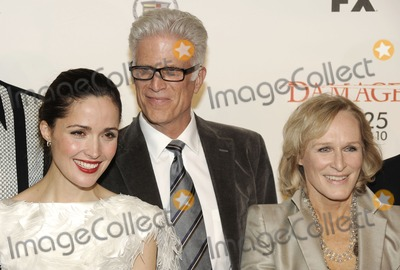 Rose Byrne Photo - (L-R) Actors Rose Byrne Ted Danson and Glenn Close attend the season three premiereseason two DVD launch of FXs Damages in New York NY on January 19th 2010 (Pictured Rose Byrne Ted Danson Glenn Close)