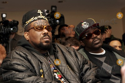 Afrika Bambaataa Photo - Afrika Bambaataa and Five 5 Freddy attend the Smithsonians Museum of American Historys press conference launching their first ever hip-hop national collecting initiative on February 28 2006 in New York City