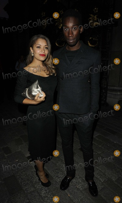 Nathan Stewart-Jarrett Photo - LondonUK Antonia Thomas  Nathan Stewart-Jarrettat  the UKs Creative Industries Reception Royal Academy of Arts Burlington House Piccadilly London England 30th July 2012 Can NguyenLandmark Media