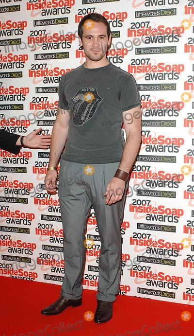 Ayden Callaghan Photo - London UK Ayden Callaghan attending the Inside Soap Awards 2007 held at Gilgamesh The Stables on Chalk Farm Road Camden 24th September 2007Eric BestLandmark Media
