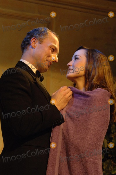 Alice Coulthard Photo - London UK The inside story of the Profumo Affair based on The Truth At Last by Christine Keeler The play is set on the 1960s and tells the story of the British Secretary of State for War John Profumo who had an affair with a call girl who was involved with a russian military expert working at the Russian Embassy in London The Profumo Affair took on a national security dimensionUpstairs at the Gatehouse Highgate Village  Johnnie Lyne-Pirkis as Jack Profumo and Alice Coulthard as Christine Keeler 12th February 2007 Ali KadinskyLandmark Media