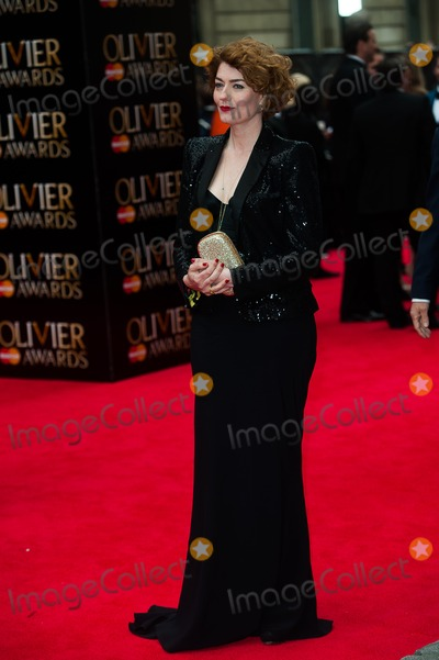 Anna Chancellor Photo - London UK Anna Chancellor at the Olivier Awards at The Royal Opera House Covent Garden 28t April 2013Justin NgLandmark Media
