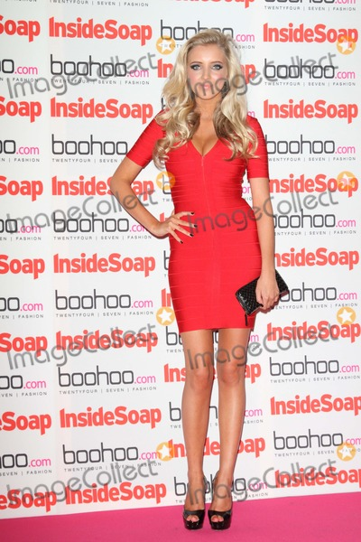 Alice Barlow Photo - London UK  240912Alice Barlow at the Inside Soap Awards 2012 held at One Marylebone24 September 2012Keith MayhewLandmark Media