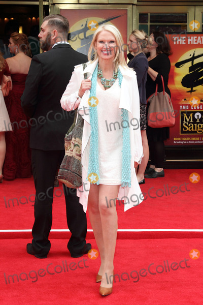 Anneka Rice Photo - London UK Anneka Rice at Miss Saigon Press Night at the Prince Edward Theatre London  May 21st 2014 Ref LMK73-48535-220514Keith MayhewLandmark Media WWWLMKMEDIACOM