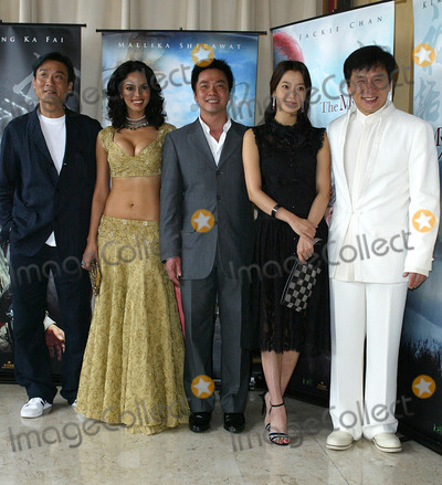 Tony Leung Photo - Cannes France Jackie Chan Kim Hee-Seon Tony Leung Ka fai Mallika Sherawat and the director Staney Tong at the photocall for the movie THE MYTH at the Cannes Film Festival17 May 2005Jenny RobertsLandmark Media