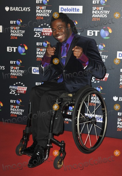 Ade Adepitan Photo - London UK Ade Adepitan at the BT Sport Industry Awards at Battersea Evolution in London on May 8 2014 Ref LMK386-48413-090514Gary MitchellLandmark Media WWWLMKMEDIACOM