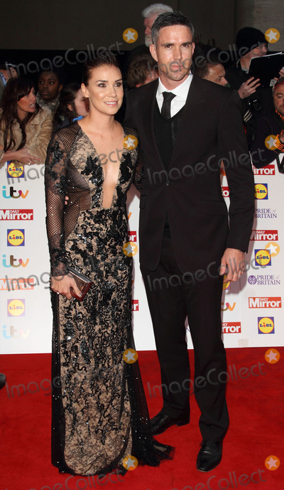 Kevin Pietersen Photo - London UK Jessica Taylor and Kevin Pietersen at Pride of Britain Awards- A Night of Heroes at the Grosvenor House Hotel Park Lane London on October 6th 2014Ref LMK73-49741-071014Keith MayhewLandmark Media WWWLMKMEDIACOM