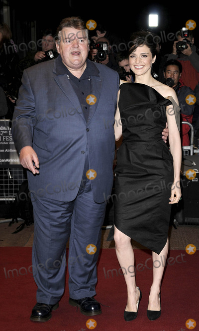 Robbie Coltrane Photo - London UK Robbie Coltrane and Rachel Weisz at the London Film Festival screening of The Brothers Bloom held at the Odeon West End in London 27th October 2008Can NguyenLandmark Media